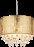 Hanglamp goud e27 fitting led lamp
