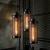 hanglamp industrieel vintage zwart