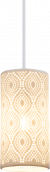 Hanglamp porselein E27 fitting modern