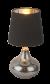 Bureaulamp led lamp zilver zwart