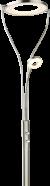 Moderne vloerlamp nikkel 'Carrie' 25W led met dimmer 1930mm