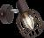 Wandlamp kooilamp industrieel E14 fitting
