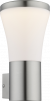 Buitenverlichting zilver modern warm wit