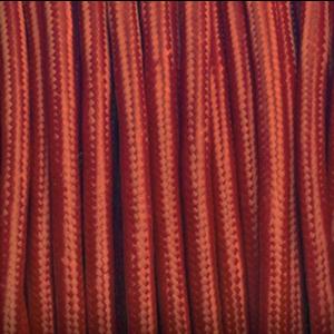Bourgondië rood rond stof kabel