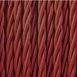 Bourgondië gedraaid stof kabel
