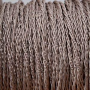 strijkijzersnoer duif bruin