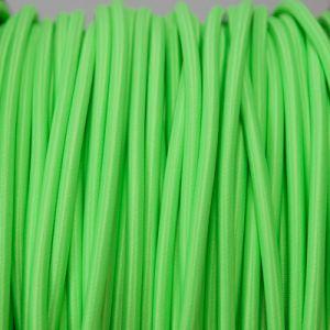 FLUOR groen rond stof kabel