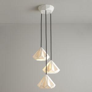 Original btc hanglamp porselein modern E27 fitting modern