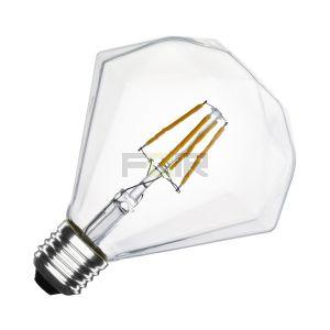 Diamant led lamp 4w dimbaar edison lamp
