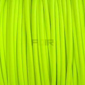 Fluor fel groen strijkijzersnoer rond