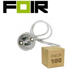 100x GU10 lampfittingen lamphouder