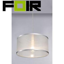 Plafondlamp wandlamp 'Naxos' doozichtig E27 400mm