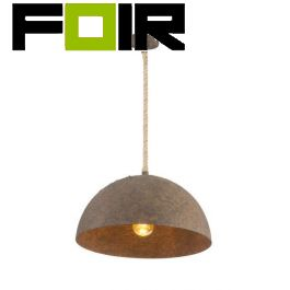 Hanglamp roest industrieel 'Rea' e27 fitting metaal 400mm