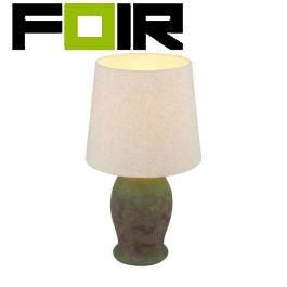 Tafellamp roest bruin 'Rea' E27 fitting 450mm
