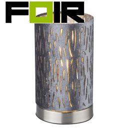 Tafellamp stoffen kap 'Tarok' E14 fitting 205mm