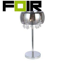 Tafellamp modern chrome 'Kalla' G9 fitting 450mm