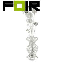 Tafellamp chrome 'Vase' 4x G9 fitting 800mm