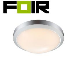 Pafondlamp buiten / badkamer 'John' led lamp 3000k 270mm IP65
