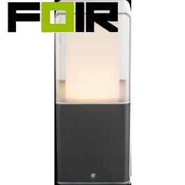 Wandlamp gevellamp 'Dalia' antraciet zwart led 200mm