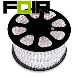 50m LED strip koel wit, 220V AC, SMD5050, 60 LED/m