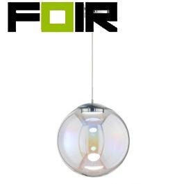 WOFI Grace LED hanglamp chroom 14W dimbaar 3000K warmwit 400mm