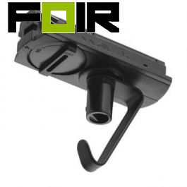 Nordlux 'Link Adapter' met haak Accessoires 1-fase raillicht zwart