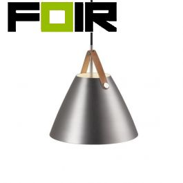 Nordlux 'Strap 27' E27 fitting brushed staal modern 270mm