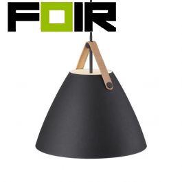 Nordlux 'Strap 36' zwart E27 fitting 360mm