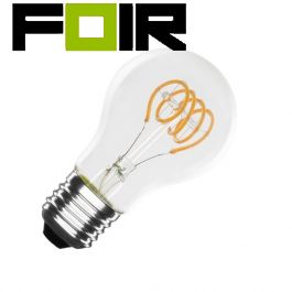 A60 led lamp warm wit E27 fitting 4W