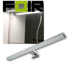 Badkamerlamp boven spiegel led 8W 400mm chroom