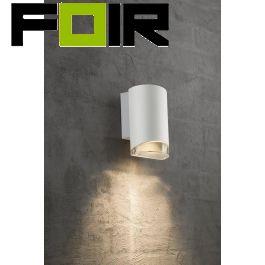 Nordlux 'Arn' GU10 gevelverlichting Aluminium IP44 wandlamp 175mm
