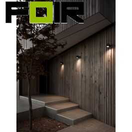 Nordlux 'Aleria' downlighter modern wandlamp gu10 zwart