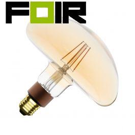 E27 LED gloeidraad lamp gold LEDClassic Philips paddenstoel G127 5W