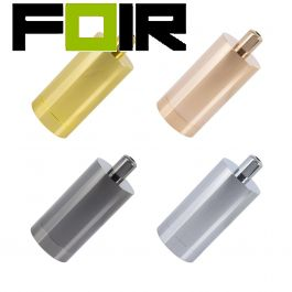 E27 fitting metaal rond vier kleuren modern