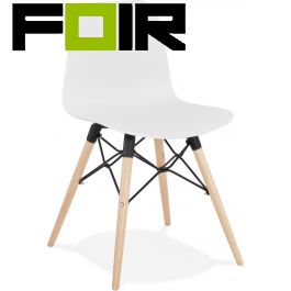 Eetkamer stoel modern 'Ginto' kunststof modern Kokoon Design