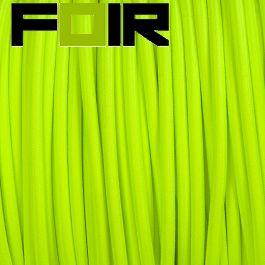 Strijkijzersnoer Fluor fel groen rond