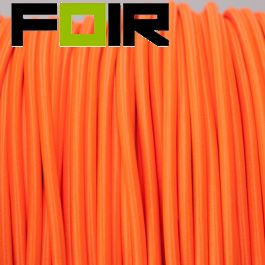 Strijkijzersnoer Fluor Oranje rond