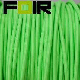 Strijkijzersnoer Fluor Groen rond