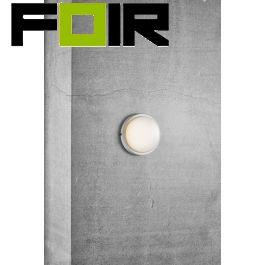 Nordlux 'Cuba energy' VVE verlichting wit buiten plastic 11W led 175mm