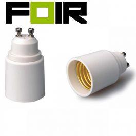 GU10 naar E27 adapter voor lampen