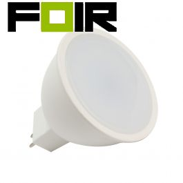 GU5.3 MR16 S11 6W LED lamp (220V) Warm wit 3000K