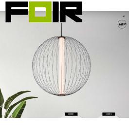 Hanglamp modern 'Moruri' zwart led lamp 30W 500mm
