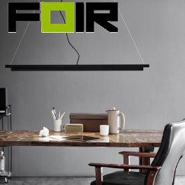 Nordlux Design for the People 'SpaceB' LED Hanglamp kantoor werkplek zwart 22W dimbaar 2200-3000K warmwit verstelbaar
