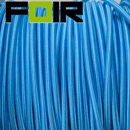 Strijkijzersnoer Hemel blauw rond