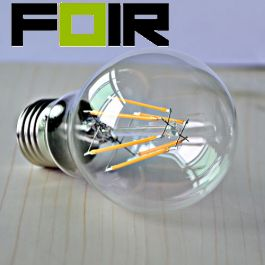Led lamp edison 6w warm wit