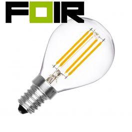 G45 E14 3W LED bolvormige gloeidraad lamp (dimbaar)