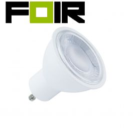 GU10 S11 60º 7W LED lamp (dimbaar, warm wit 3000k)