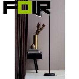 Nordlux 'Adrian' staande lamp vloerlamp zwart E27 fitting 151cm