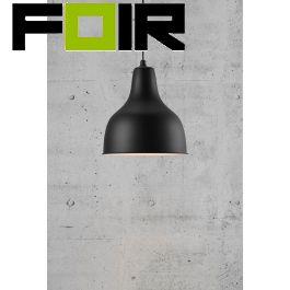 Nordlux 'Ames' hanglamp zwart E27 fitting 300mm