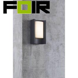 Nordlux 'Aspen' LED gevelverlichting zwart 6W 300Lm 3000K warm wit buitenverlichting